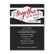 Get Together - Invitation